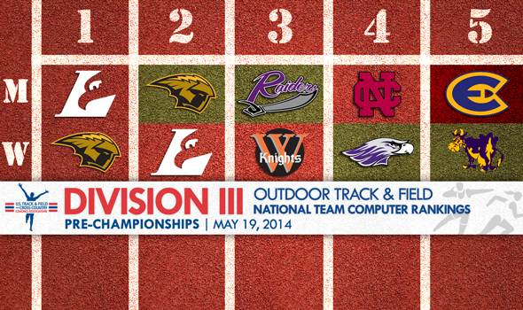 UW-La Crosse Men & UW-Oshkosh Women Projected as Favorites for Division III Outdoor T&F Titles
