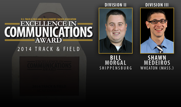 Morgal and Medeiros Earn Excellence in Communications Awards for Divisions II and III