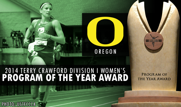 Oregon Women Win 6th-Straight Terry Crawford Division I Women's Program of the Year Award