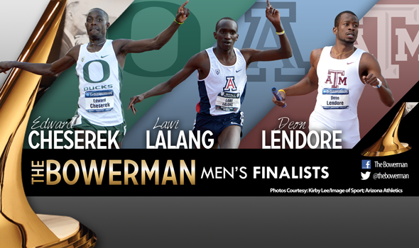 Cheserek, Lalang & Lendore Named Men's Finalists for The Bowerman