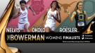 Nelvis, Okolo & Roesler Named Women's Finalists for The Bowerman Trophy