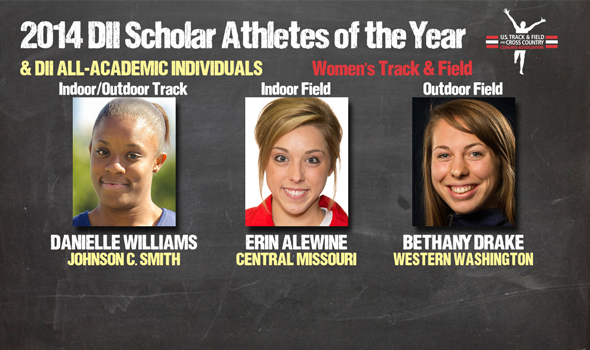 DII Women's Track & Field Scholar Athletes of the Year & All-Academic Individuals Announced