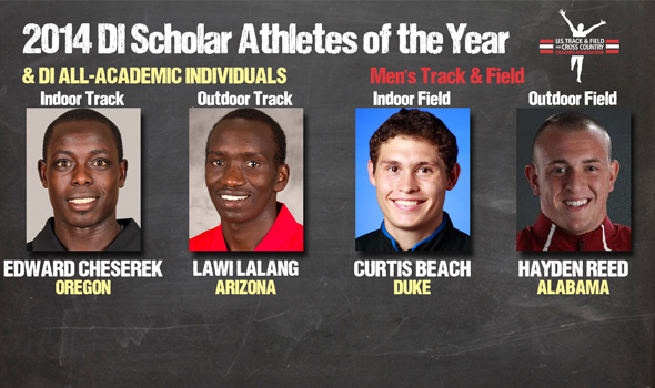 DI Men's Track & Field Scholar-Athletes of the Year & All-Academic Individual Awards Announced