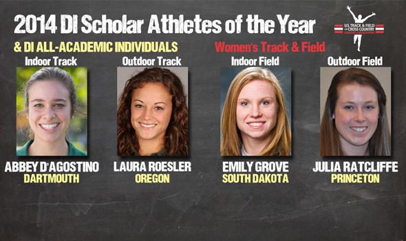 DI Women's Track & Field Scholar Athletes of the Year & All-Academic Individuals Announced