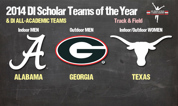 DI Track & Field Scholar Teams of the Year & All-Academic Teams Announced