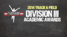 Division III Track & Field Academic Awards