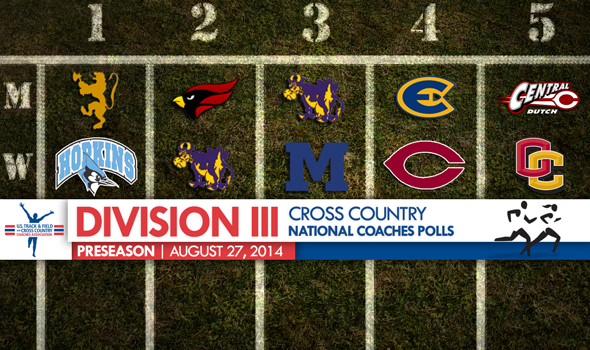 Division III XC Champs St. Olaf Men & Johns Hopkins Women Top Preseason National Coaches Polls