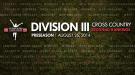 Preseason Regional Rankings for Division III Cross Country Announced