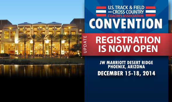 2014 USTFCCCA Convention Registration is Now Open