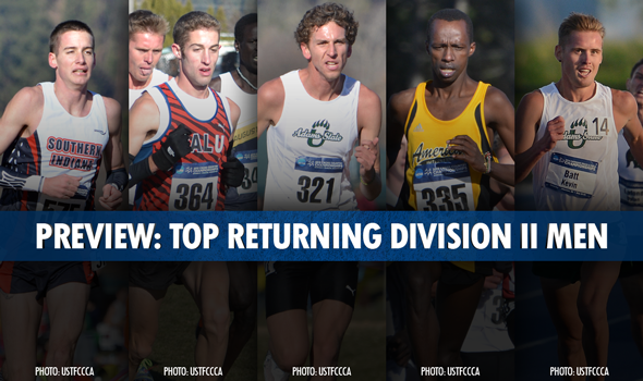 Loaded Field of Returners Set to Vie for Division II Individual Men's XC Crown