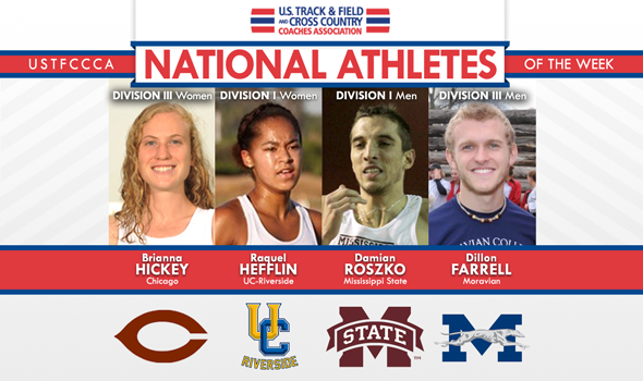 First National Athletes of the Week for 2014 Cross Country Announced