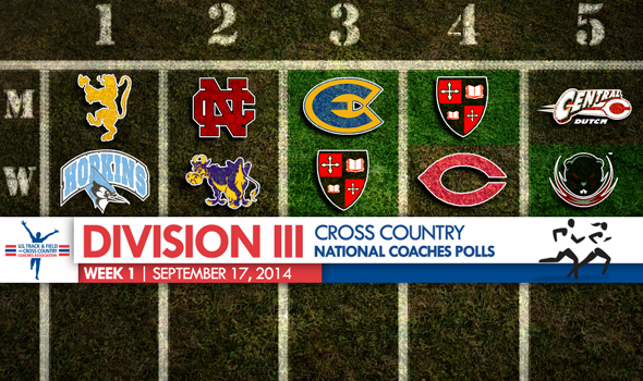 Shaken-Up DIII Cross Country National Coaches Polls Headlined by Big Moves from St. Lawrence