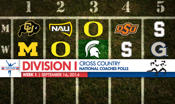 Michigan State Women Move Up in a Quiet Division I XC National Coaches Poll
