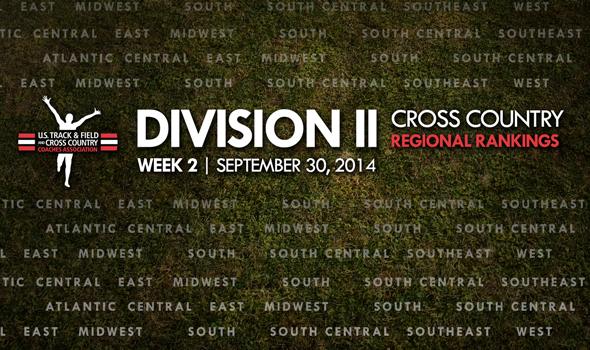 Regional Team Rankings In Division II XC Hold Relatively Steady