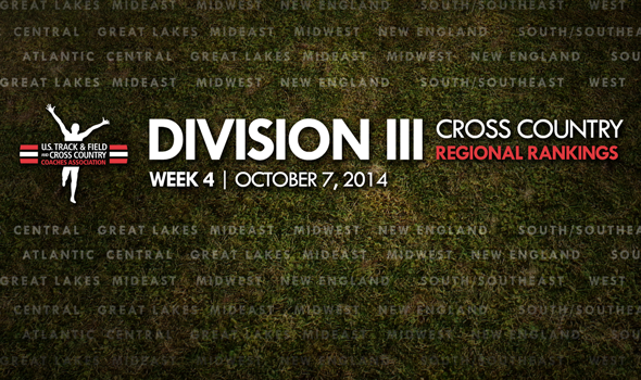 Week 4 Division III Rankings Feature Three New Men's No. 1s, Three New Women's No. 2s
