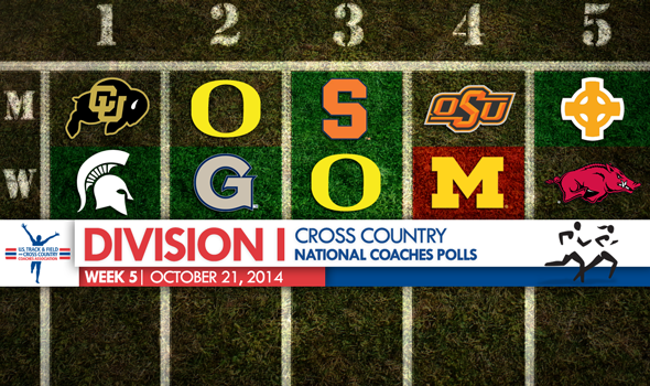 Michigan State Women & Colorado Men are No. 1 in Division I XC After Dominant Weekends
