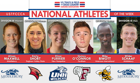 Biwott Earns Third National Athlete of the Week Honor in 2014