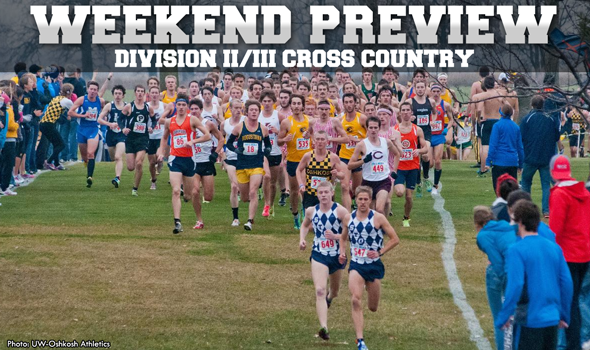 Weekend DII/III XC Preview: Wisconsin is the Place to Be