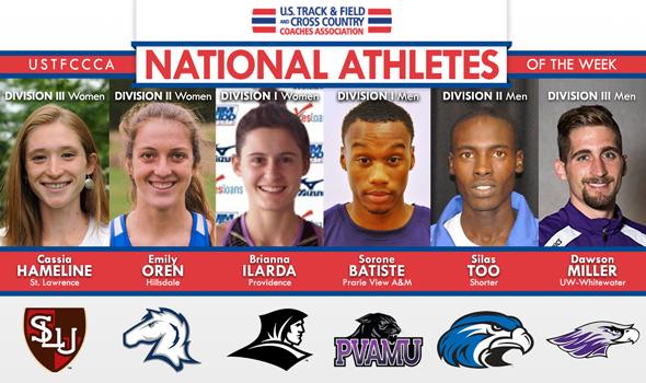 National Athletes of the Week Include Final Regular-Season DI & DIII Honorees