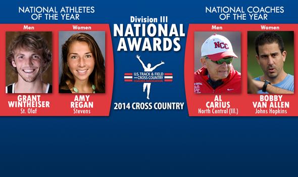 Wintheiser, Regan, Carius & Van Allen Earn National Awards for Division III Cross Country