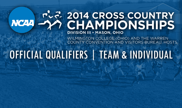 Official Qualifiers for 2014 NCAA Division III Cross Country Championships Announced