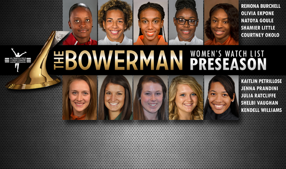 State of Texas Well-Represented in Preseason Women's Bowerman Trophy Watch List
