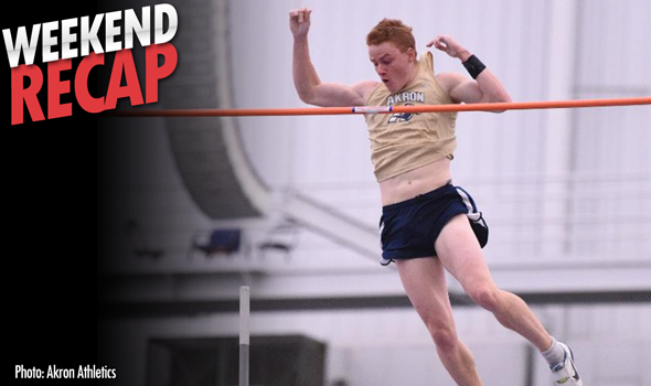 Weekend Recap: Pole Vault Record Attempts Highlight College T&F Weekend
