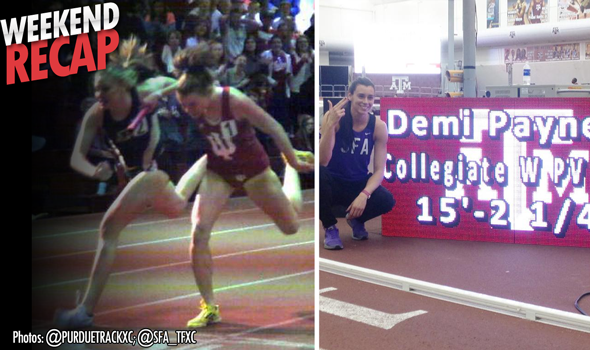 #DidYouSeeThat: The College T&F Weekend's Best Moments