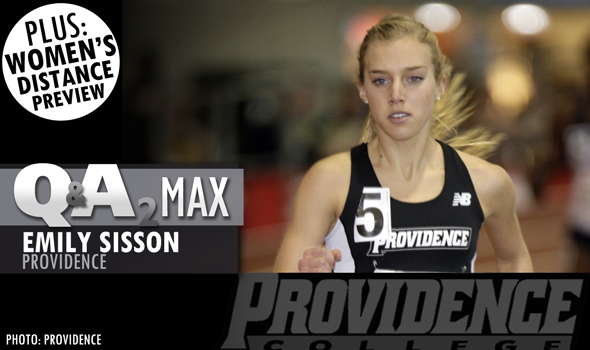 QA₂ Max PODCAST: Emily Sisson of Providence & 2015 Indoor T&F Women's Distance Preview