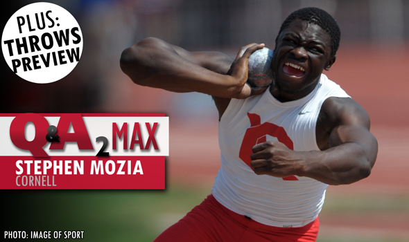QA₂ Max PODCAST: Stephen Mozia of Cornell & 2015 Indoor T&F Throws Preview