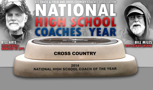 Miles & Aris Named Inaugural USTFCCCA National High School Cross Country Coaches of the Year