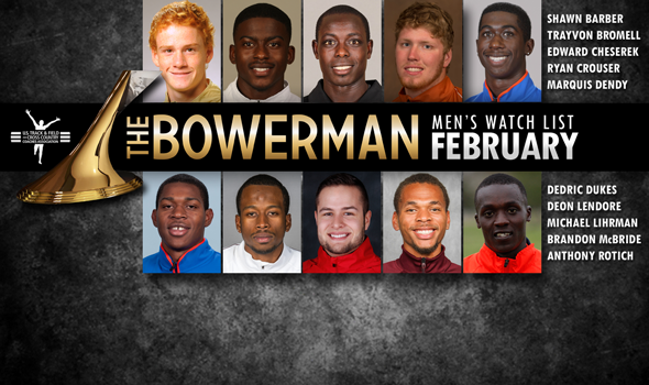 The Bowerman Men's Watch List for February Adds Wisconsin's Michael Lihrman