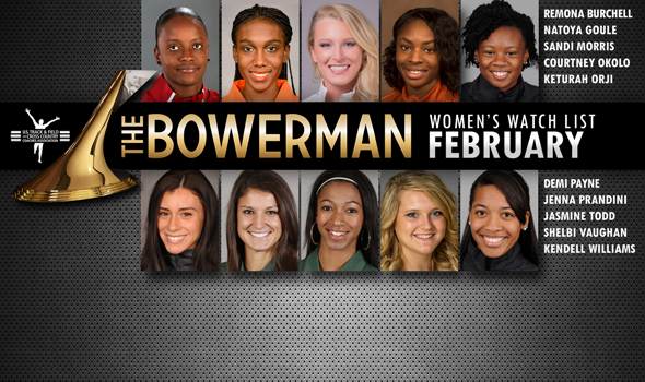 Eventful January Leads to Turnover on The Bowerman Women's Watch List
