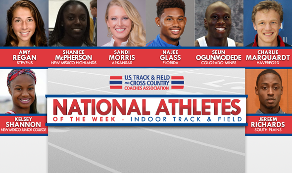 Historic Performances All Around for National Athletes of the Week