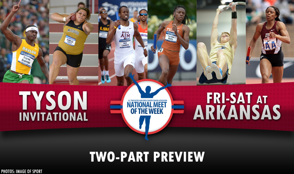 THE WARM-UP LAP: Tyson Invitational – National Meet of the Week Preview