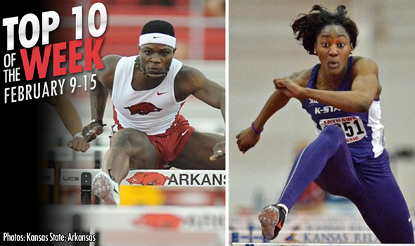 Best Marks of the College T&F Weekend: February 9-15