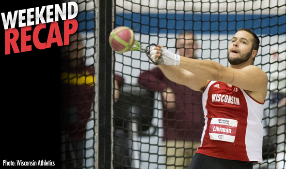 #DidYouSeeThat Weekend Recap: Year of the Weight Throw?