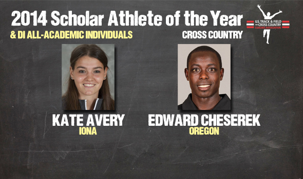 DI Cross Country Scholar Athletes of the Year Cheserek & Avery Headline All-Academic Individuals