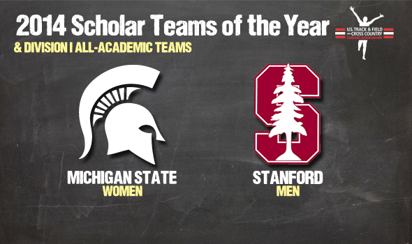 DI Cross Country Scholar Teams of the Year Stanford & Michigan St. Headline All-Academic Teams