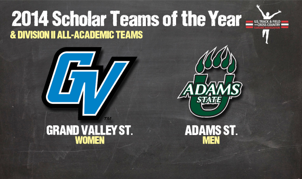 DII Cross Country Scholar Teams of the Year Adams State & GVSU Headline All-Academic Teams