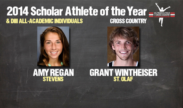 DIII Cross Country Scholar Athletes of the Year Wintheiser & Regan Headline All-Academic Individuals