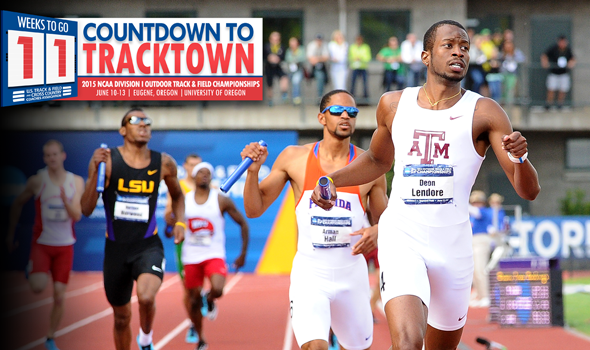Texas A&M Men Atop First 2015 DI Outdoor Rankings