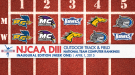 Tight Races Emerge in Inaugural NJCAA DIII Outdoor T&F Rankings