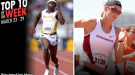 Best Marks of the College T&F Weekend: March 23-29