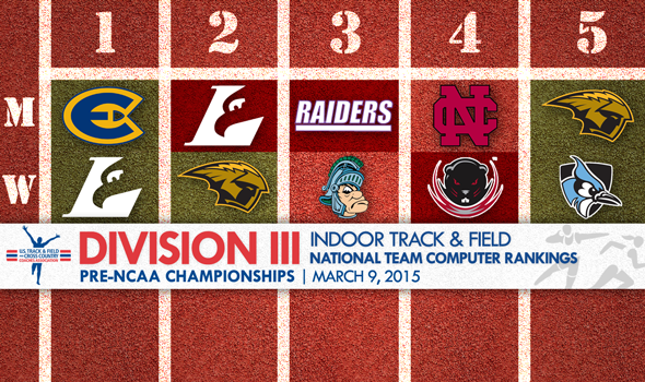New Men's and Women's No. 1s Take Over on Precipice of DIII Indoor Nationals