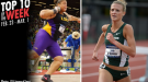 Best Marks of the College T&F Weekend: February 23-March 1