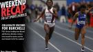 WEEKEND RECAP: Burchell's Collegiate Record Headlines Friday/Saturday Sprints & Hurdles Action