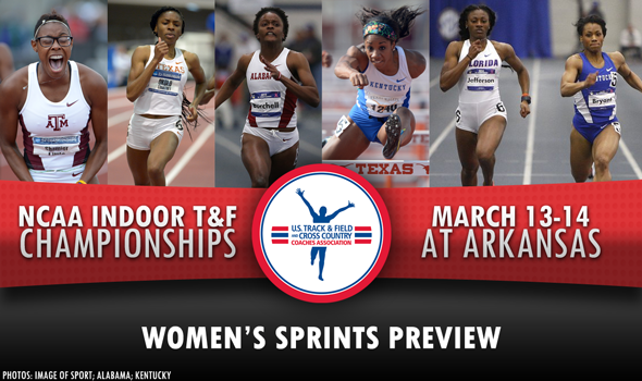 NCAA DI Indoor Championships Preview: Women's Sprints & Hurdles