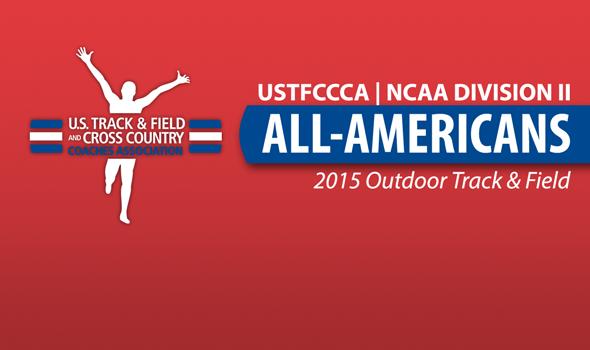All-America Awards Announced for 2015 NCAA DII Outdoor Season