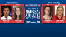 2015 NCAA Division II Athletes of the Year Announced
